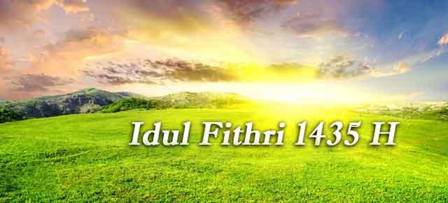 Khutbah Ied 1 Syawal 1435 H